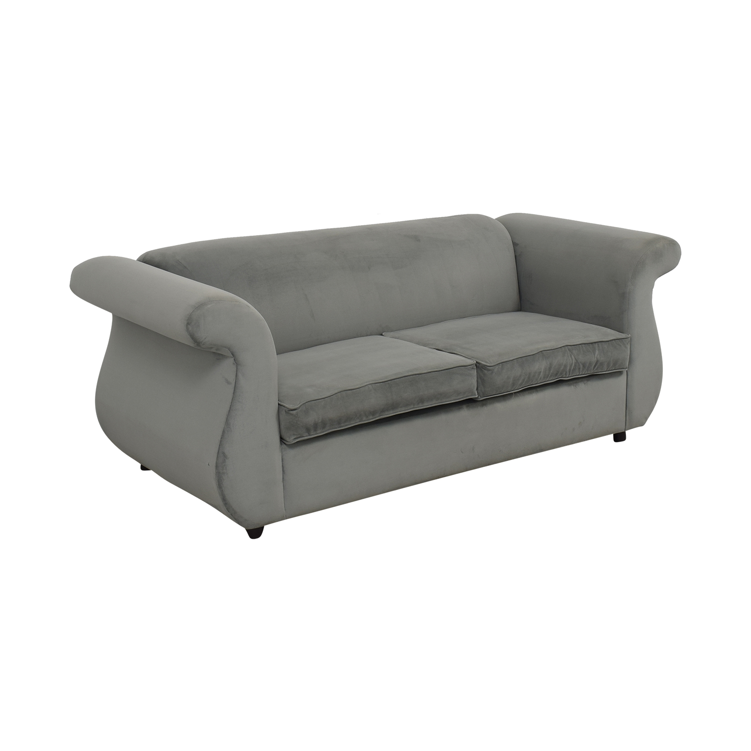 FunkySofa Tiffanie Curved Sofa / Sofa Beds