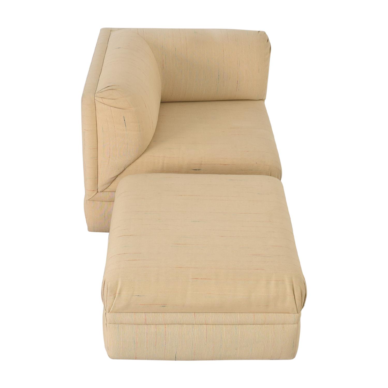 buy Thayer Coggin Lounge Chair with Ottoman Thayer Coggin Sofas