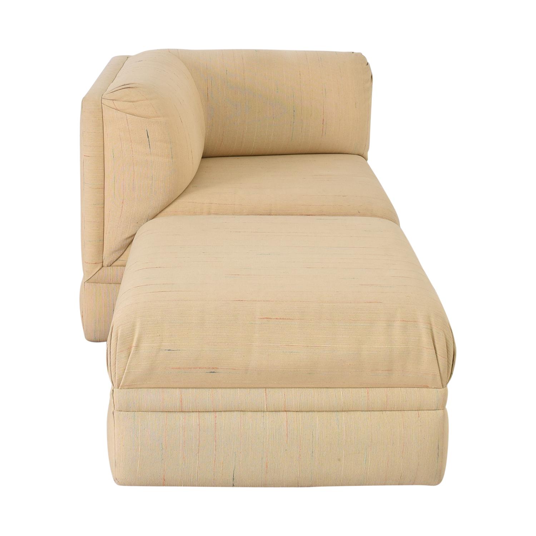 shop Thayer Coggin Lounge Chair with Ottoman Thayer Coggin