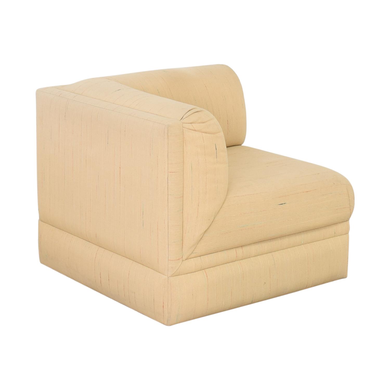 Thayer Coggin Lounge Chair with Ottoman / Sofas