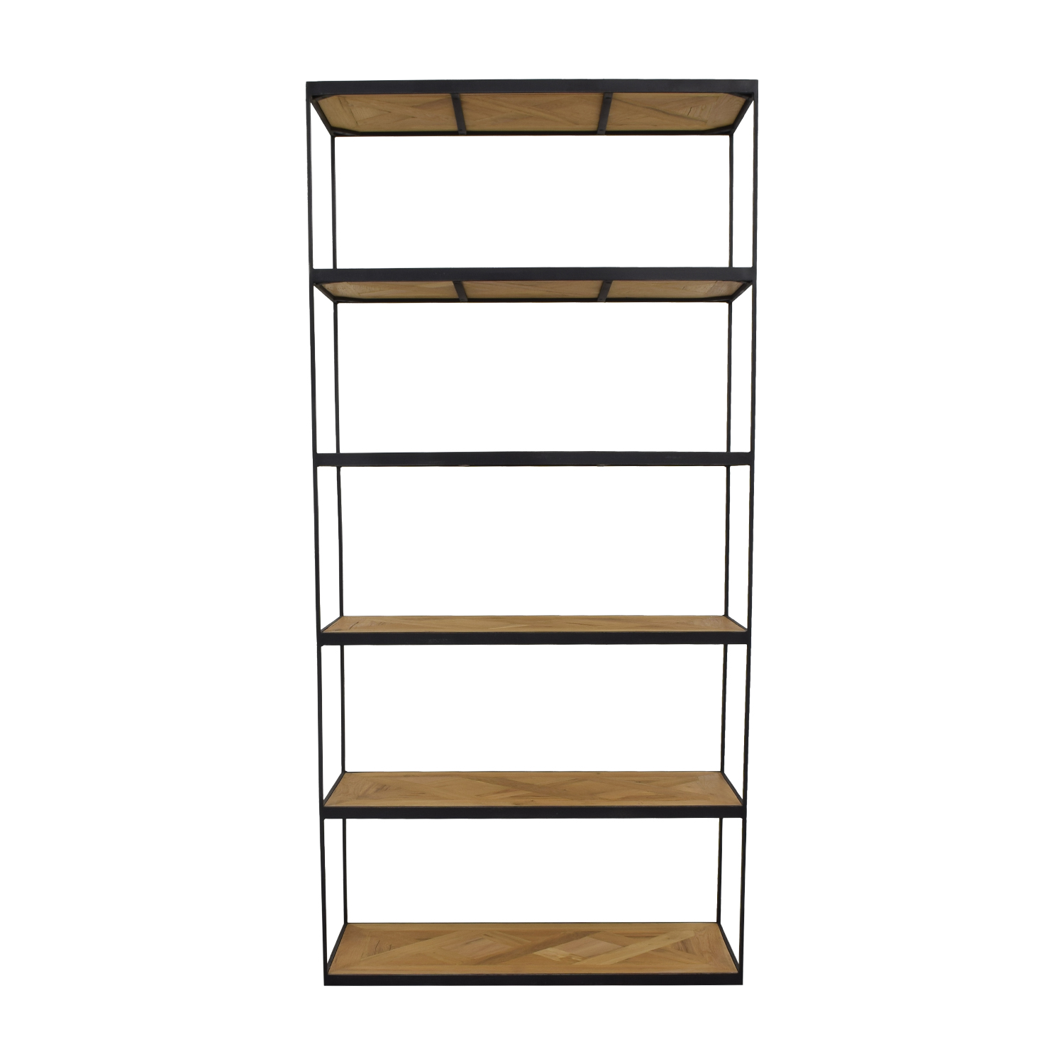 Restoration Hardware Restoration Hardware Open Bookshelf Storage