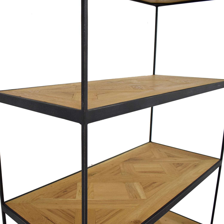 Restoration Hardware Open Bookshelf / Bookcases & Shelving