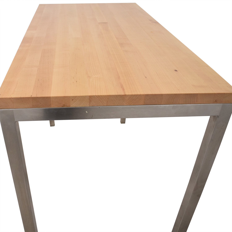 50% OFF - John Boos John Boos Metropolitan Kitchen Island Table / Tables