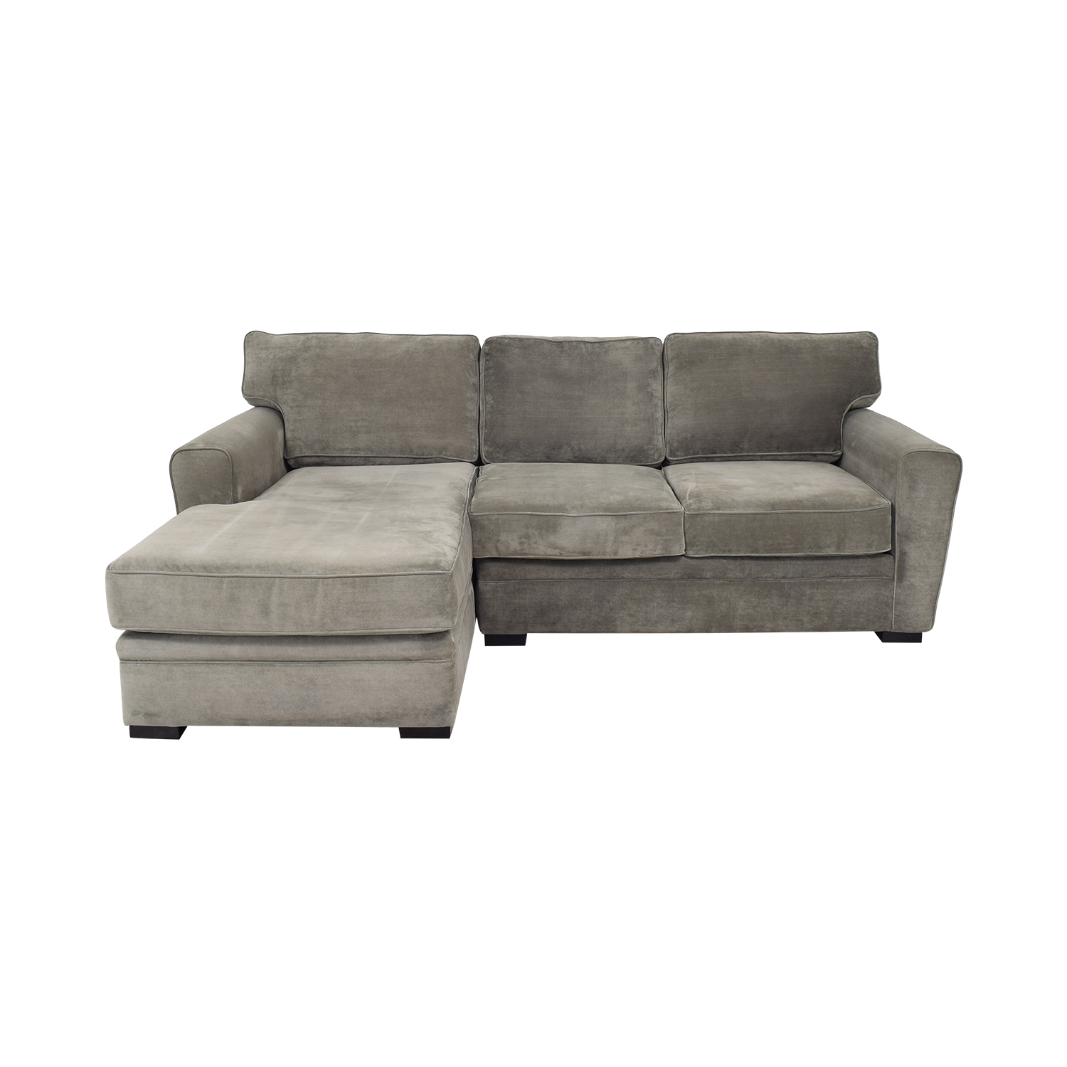 Raymour & Flanigan Raymour & Flanigan Artemis II Microfiber Sectional Sofa coupon