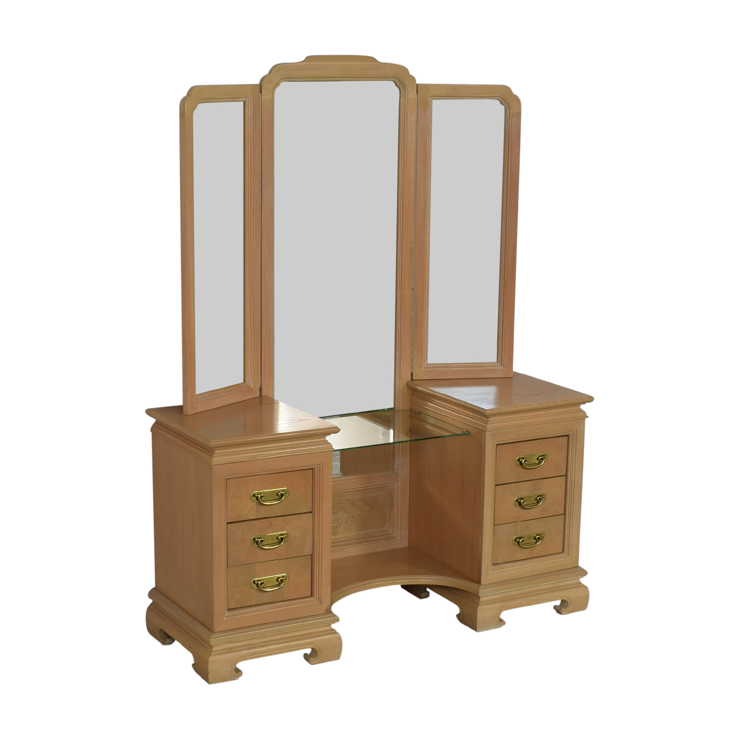 shop Stanley Furniture Vanity with Chair Stanley Furniture Home Office Desks