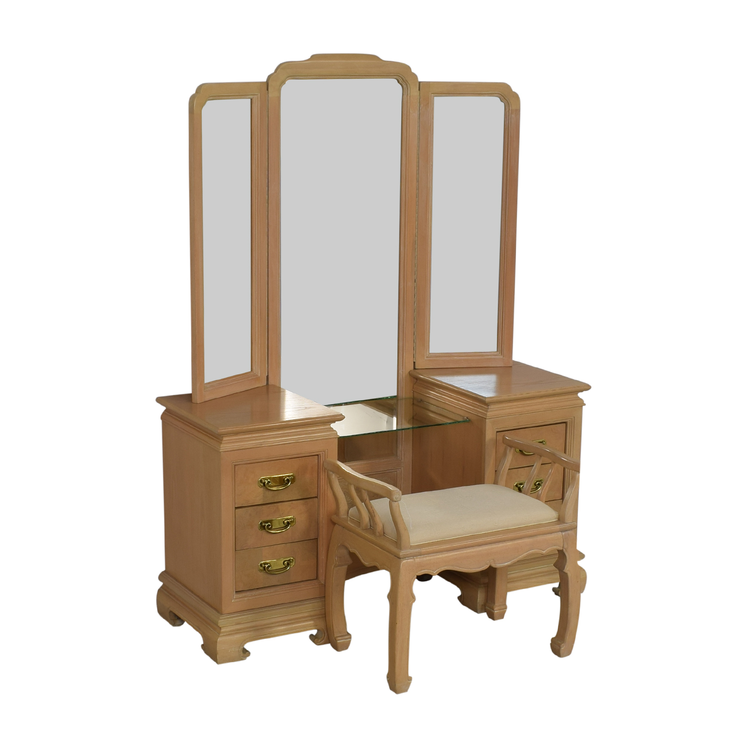 Stanley Furniture Vanity with Chair / Home Office Desks