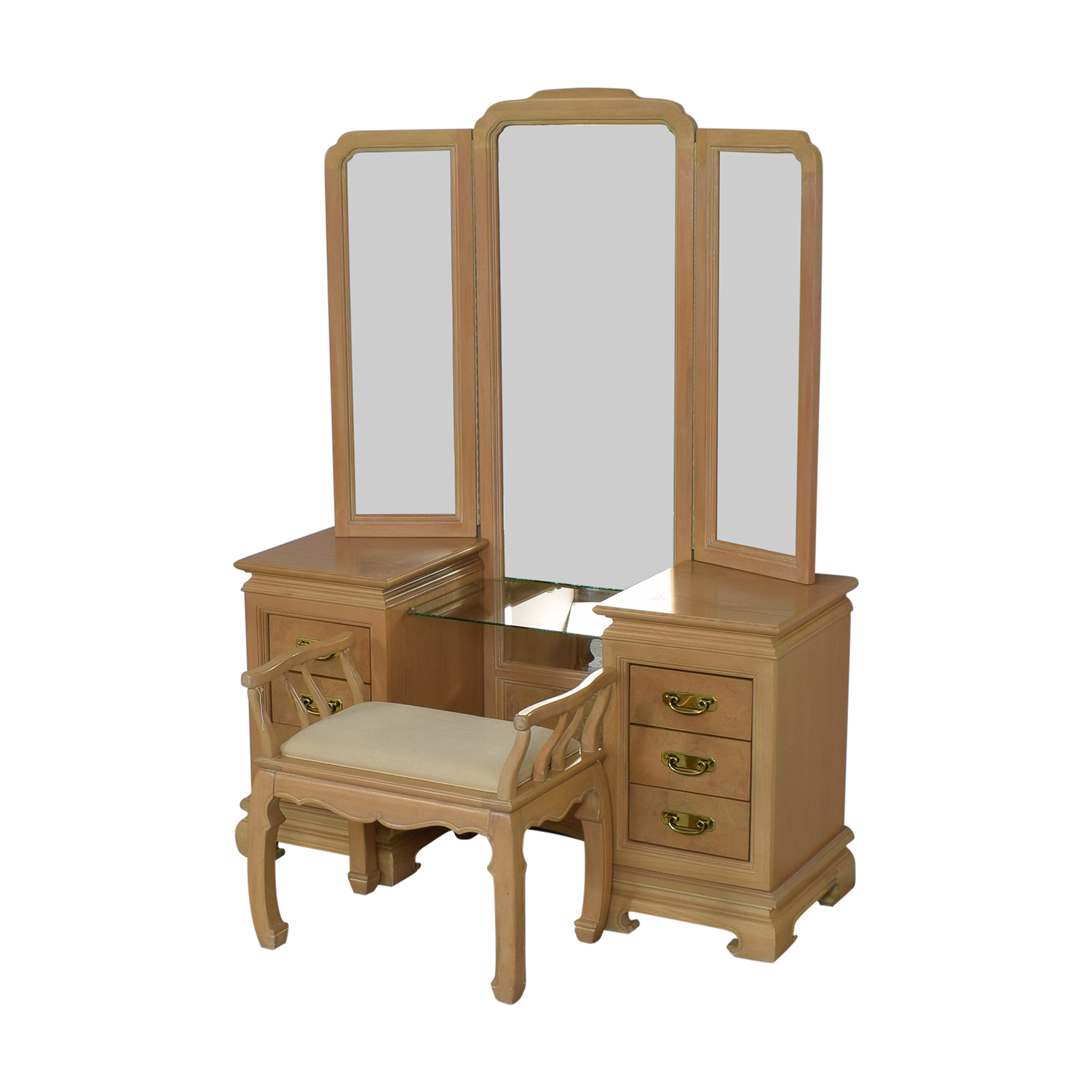 Stanley Furniture Vanity with Chair / Tables