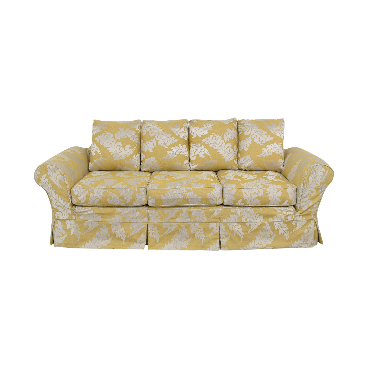 buy Ethan Allen Three Cushion Sofa Ethan Allen Classic Sofas