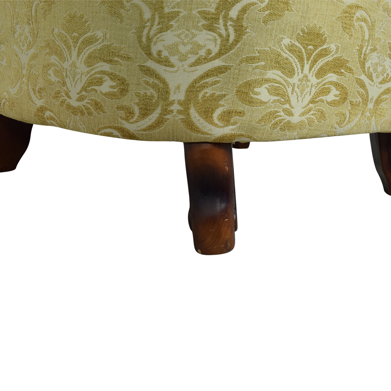 Ethan Allen Ethan Allen Ornate Arm Chair Accent Chairs