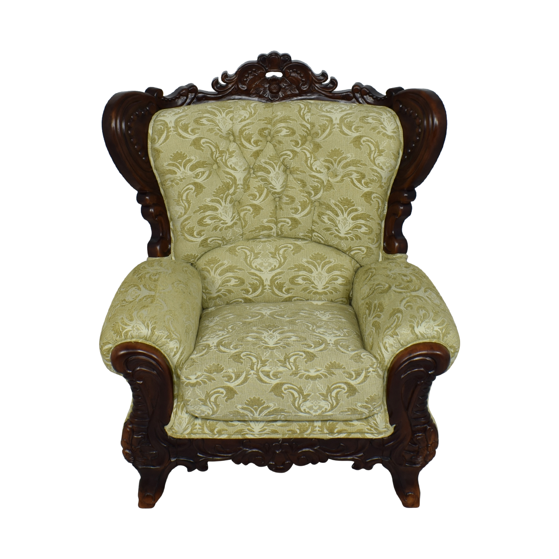 Ethan Allen Ethan Allen Ornate Arm Chair Chairs