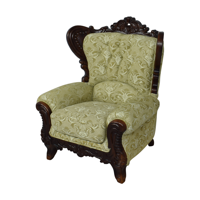 Ethan Allen Ethan Allen Ornate Arm Chair nj