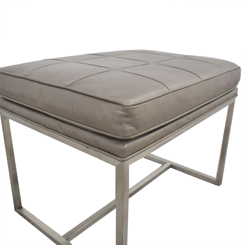 Ethan Allen Ethan Allen Upholstered Bench ma