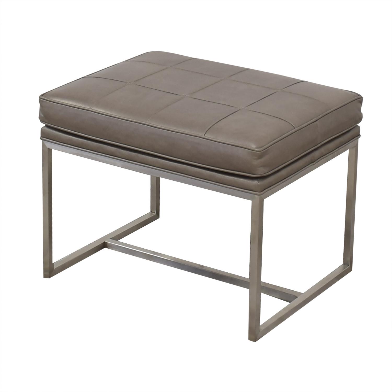 Ethan Allen Ethan Allen Upholstered Bench used
