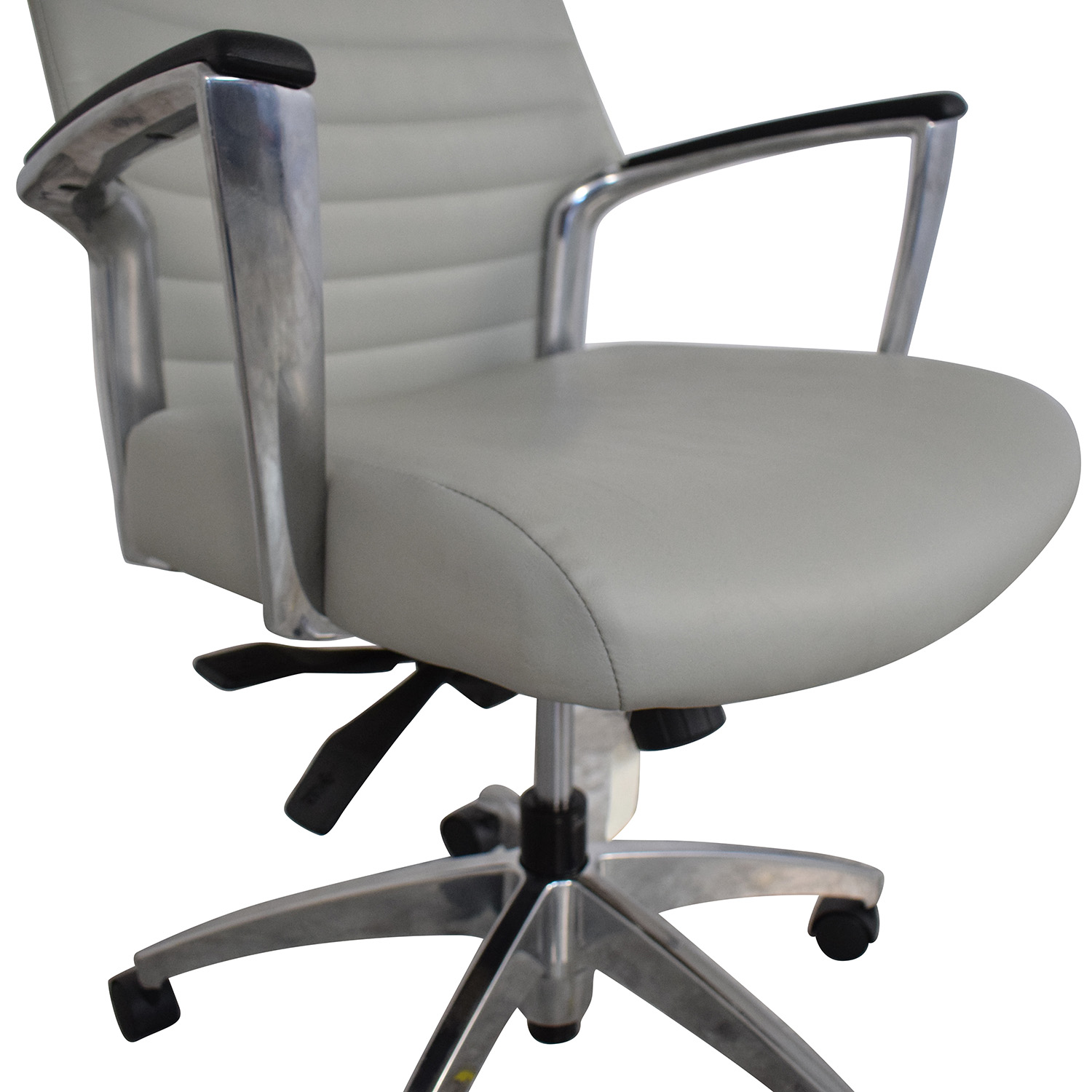 Global Global Accord Mid Back Tilter Chair grey & silver