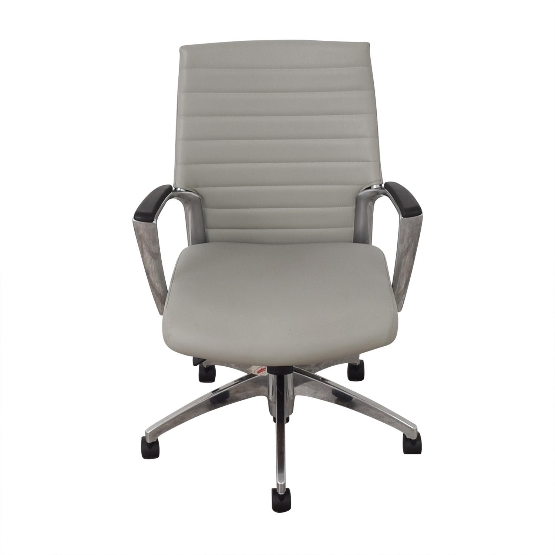 Global Accord Upholstered Medium Back Tilter Chair Global