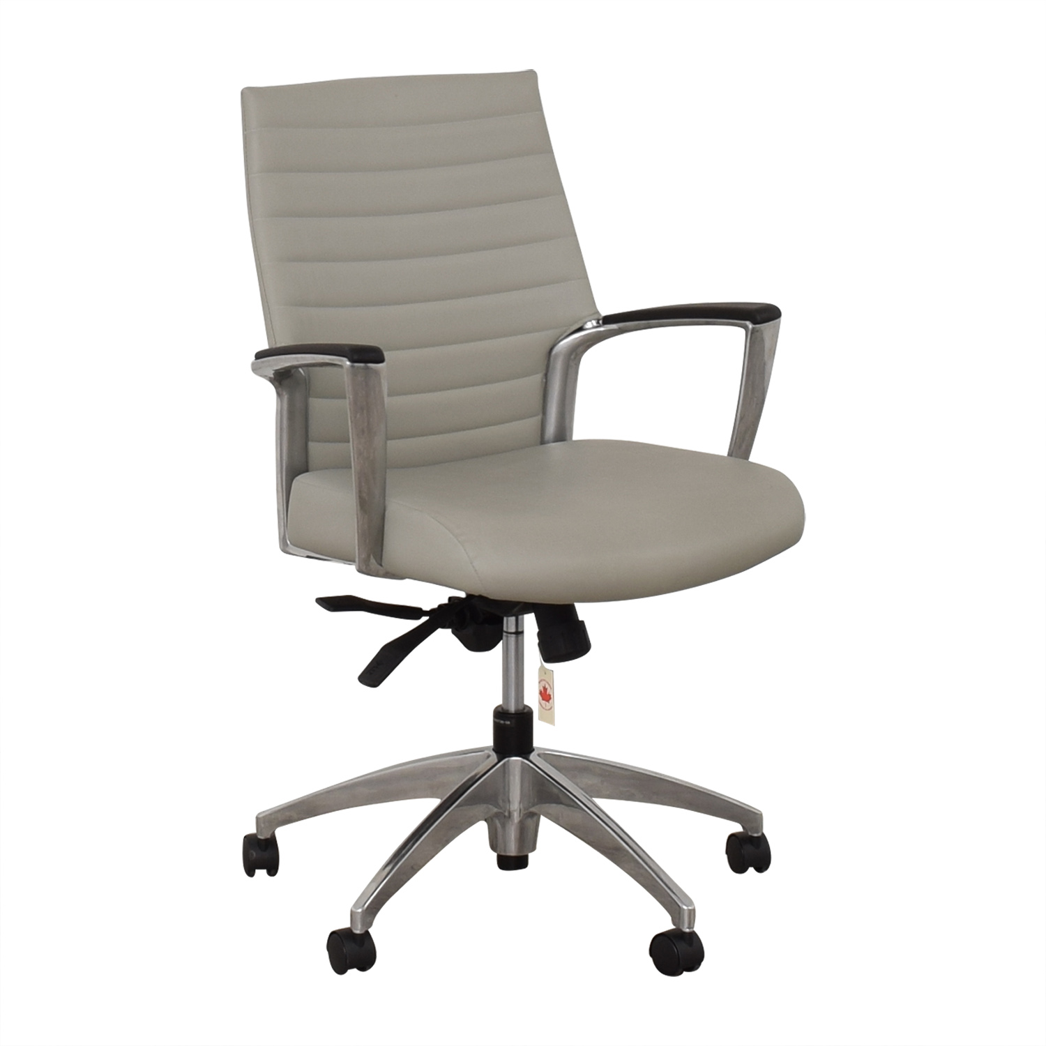 Global Global Accord Upholstered Medium Back Tilter Chair Home Office Chairs