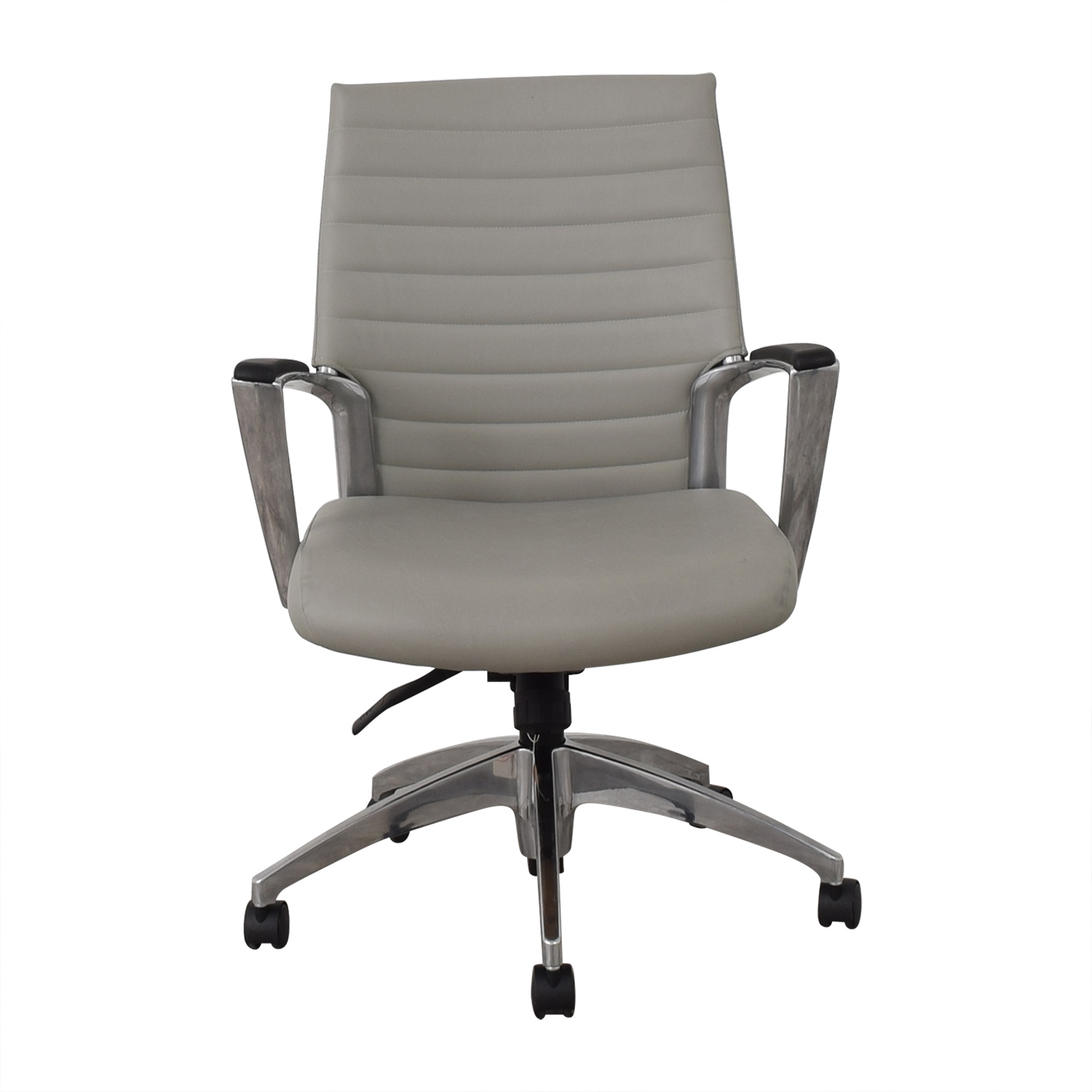 shop Global Accord Upholstered Medium Back Tilter Chair Global Home Office Chairs