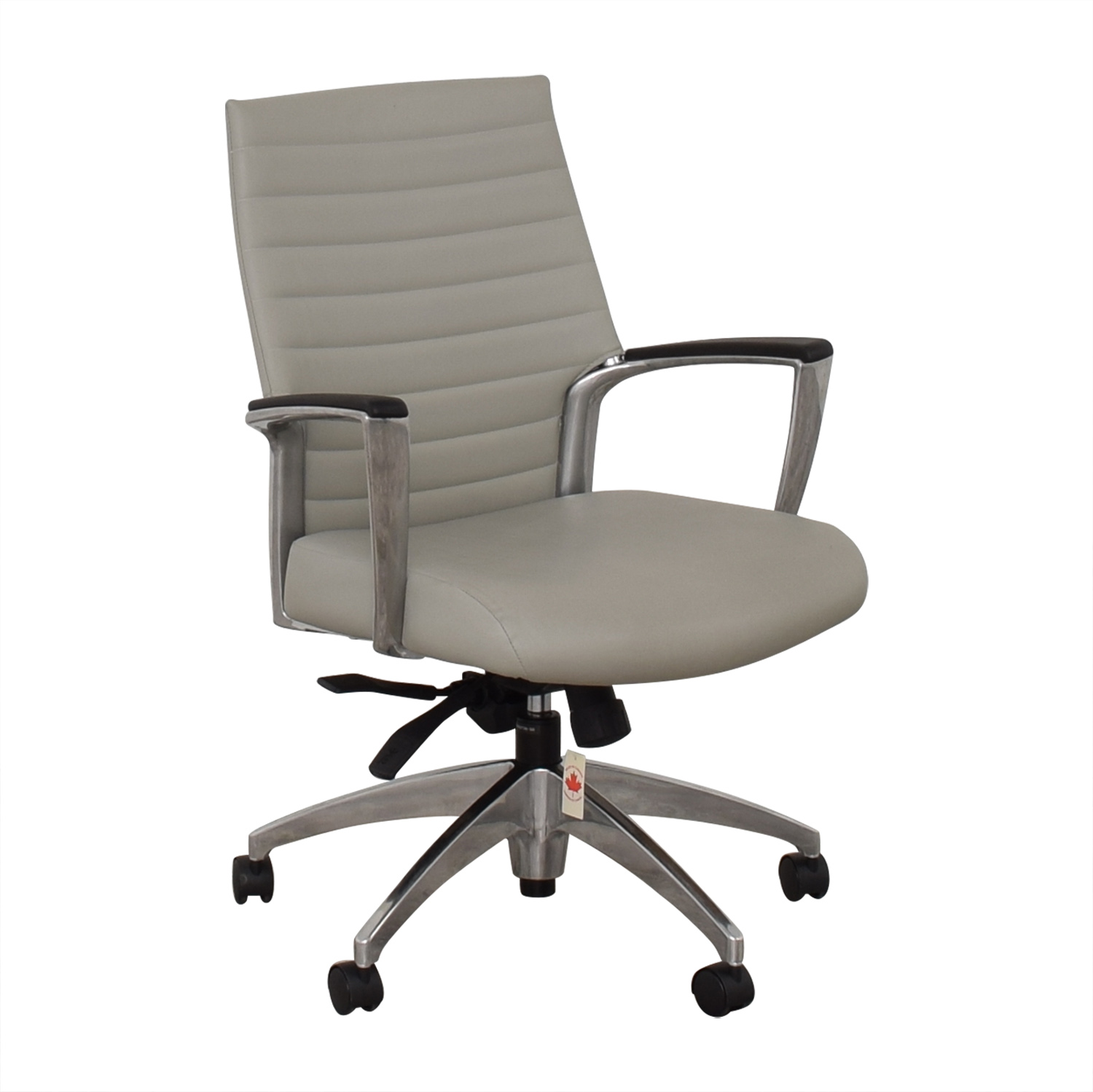 Global Accord Upholstered Medium Back Tilter Chair / Home Office Chairs