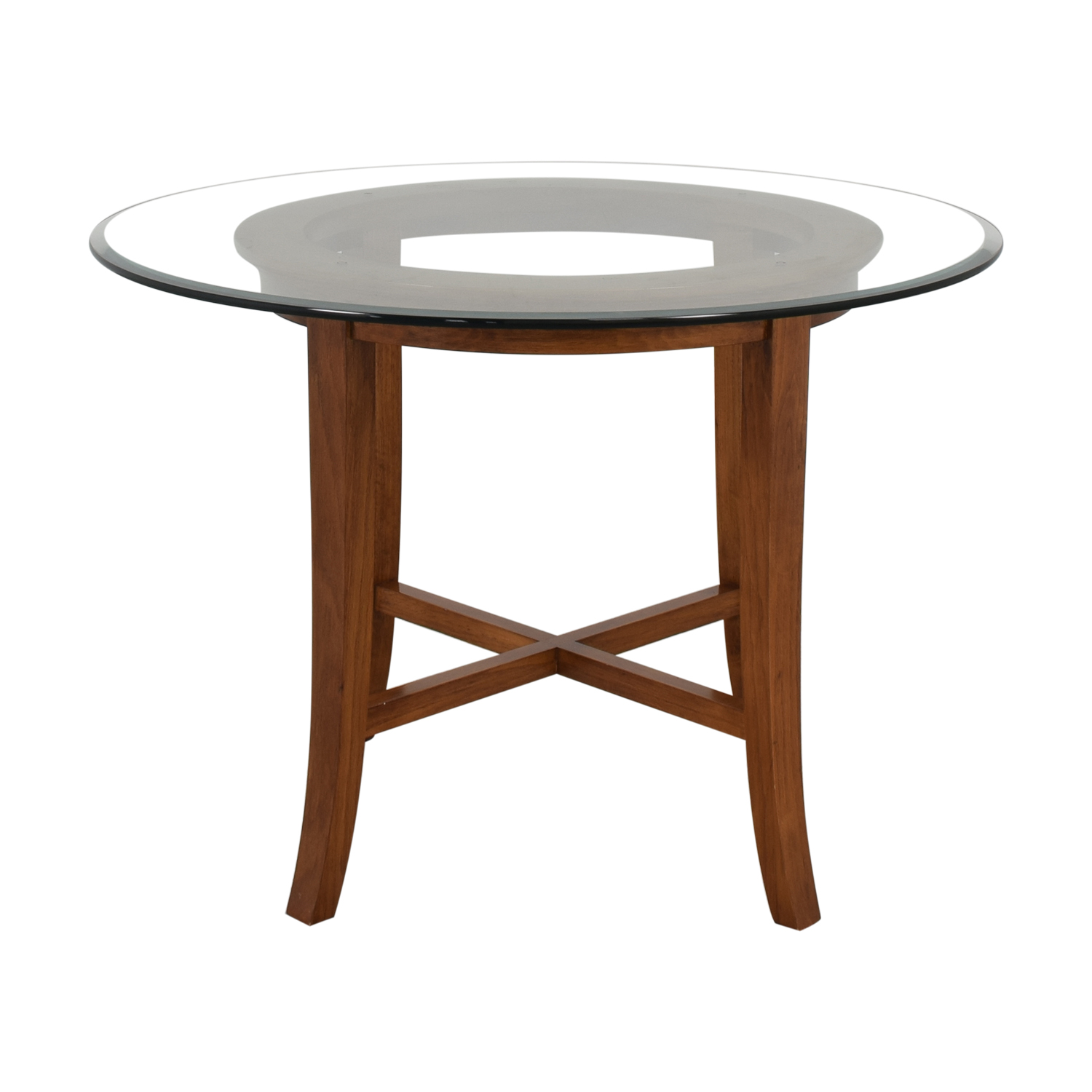 Crate & Barrel Crate & Barrel Halo Dining Table pa