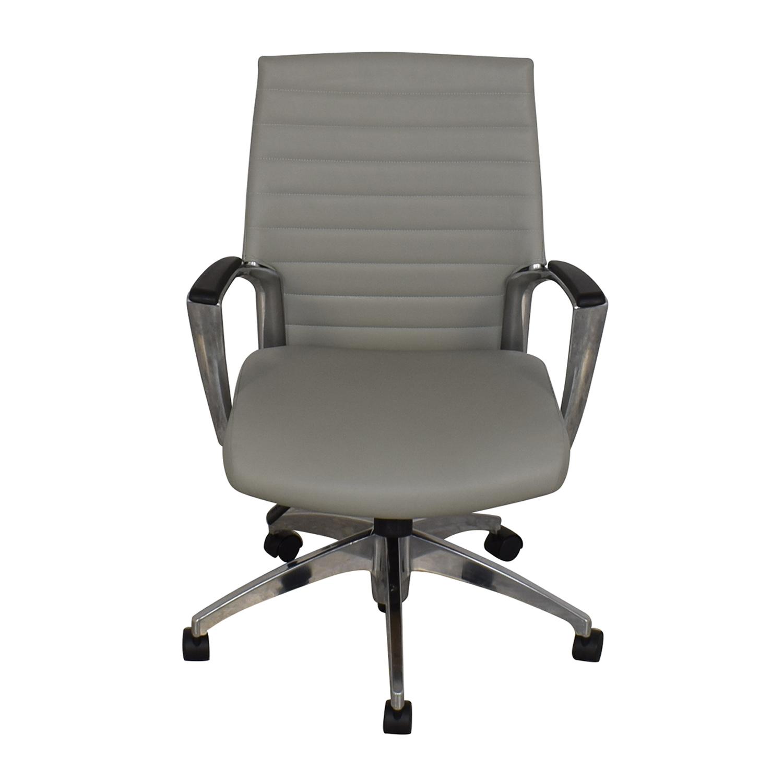 shop Global Accord Upholstered Medium Back Tilter Chair Global