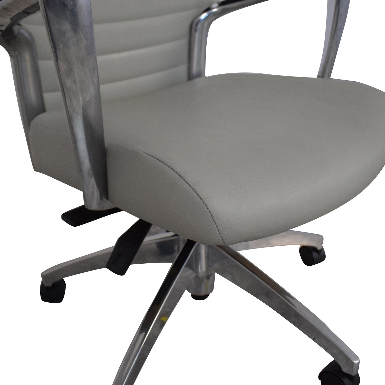 buy Global Accord Upholstered Medium Back Tilter Chair Global