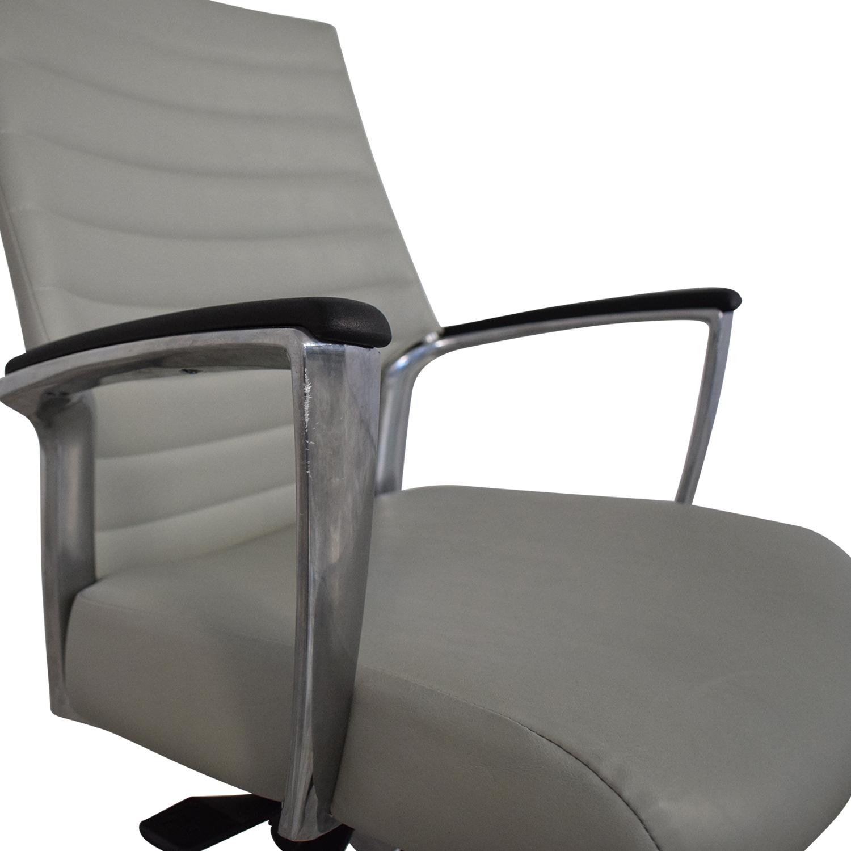 Global Global Accord Upholstered Medium Back Tilter Chair
