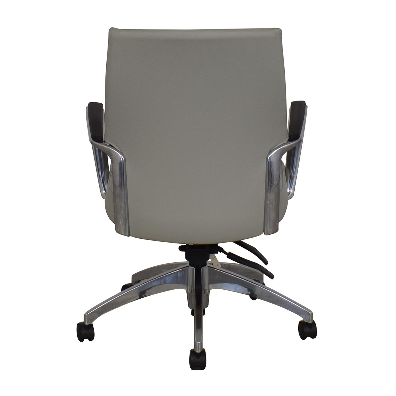 Global Global Accord Upholstered Medium Back Tilter Chair ct