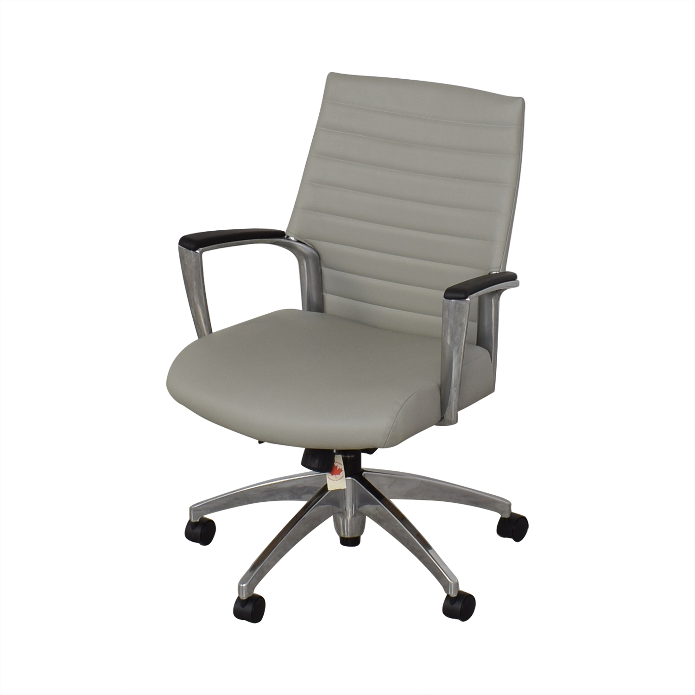 Global Global Accord Upholstered Medium Back Tilter Chair discount