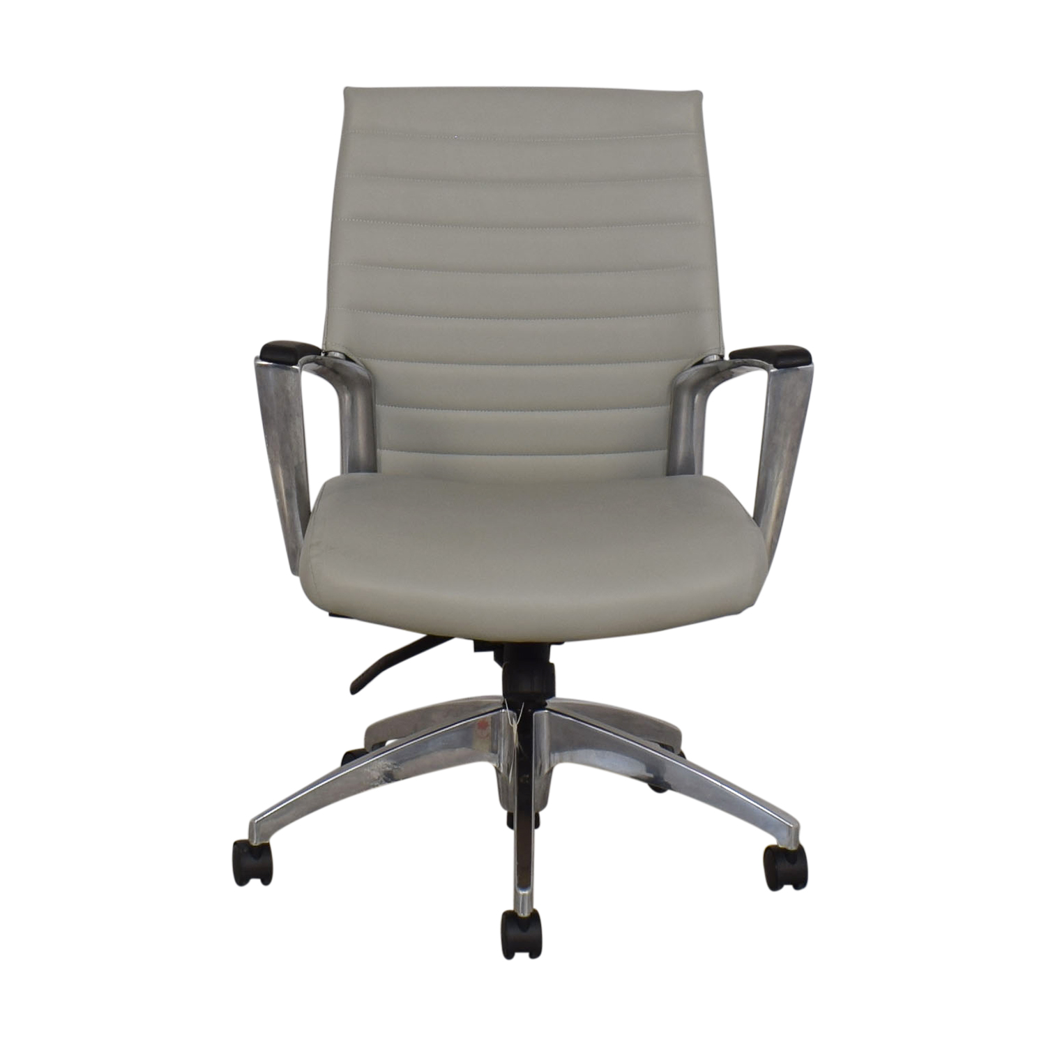shop Global Accord Upholstered Medium Back Tilter Chair Global