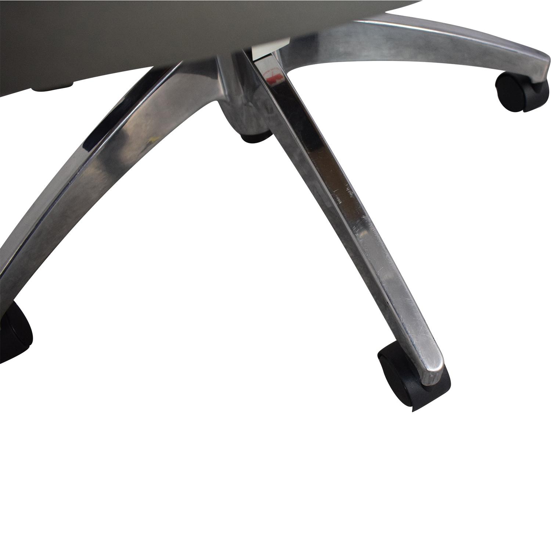 Global Global Accord Upholstered Medium Back Tilter Chair second hand