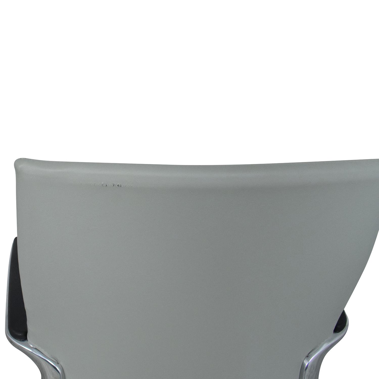 Global Global Accord Medium Back Tilter Chair grey & silver