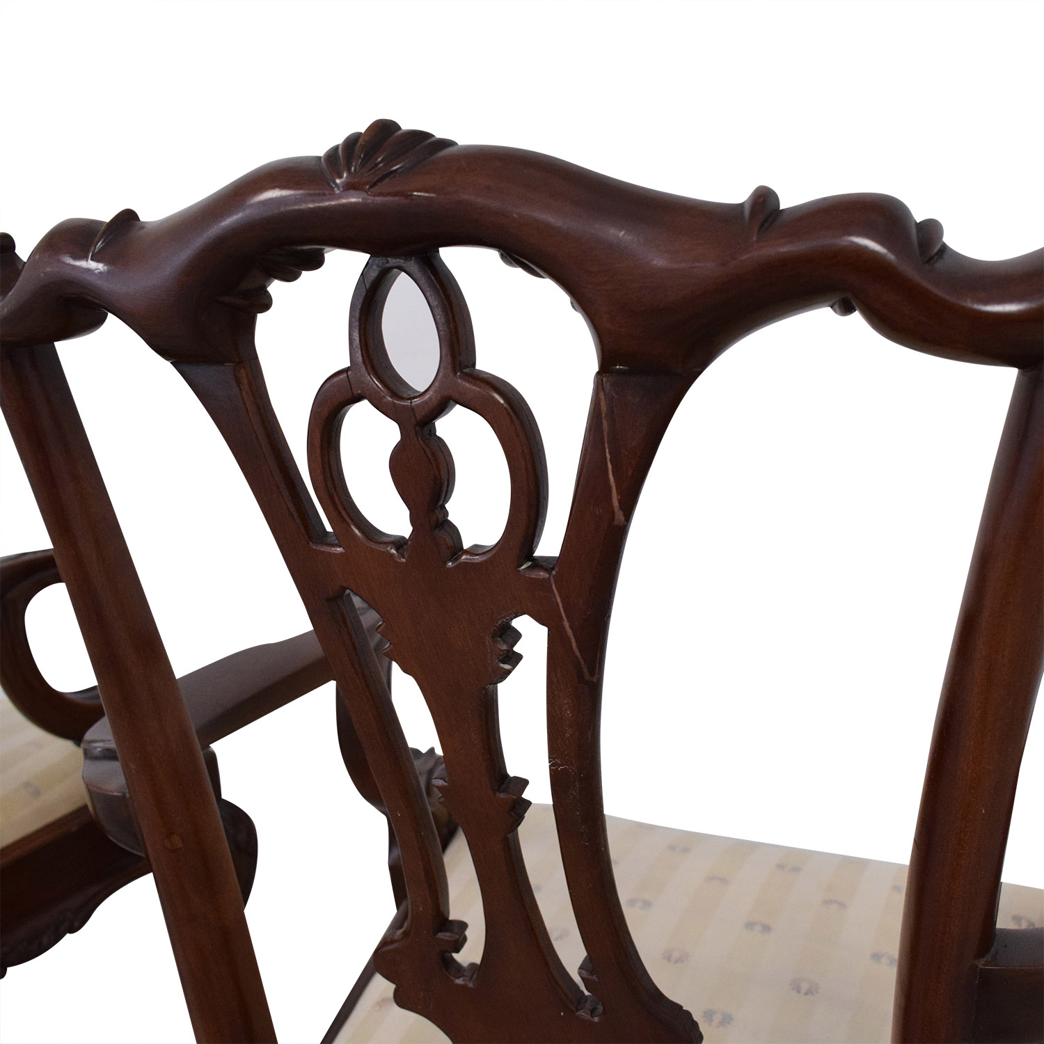 shop Hickory Furniture Upholstered Dining Chairs Macy's