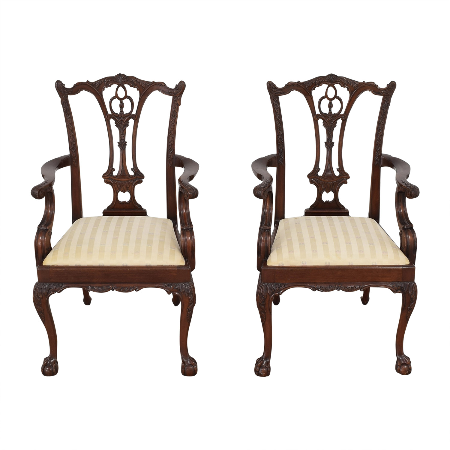 shop Hickory Furniture Upholstered Dining Chairs Macy's Dining Chairs