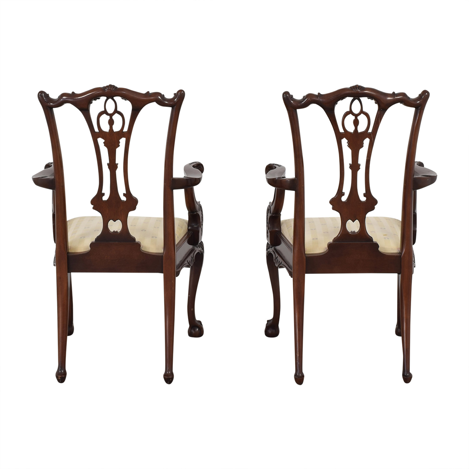 buy Macy's Hickory Furniture Upholstered Dining Chairs online