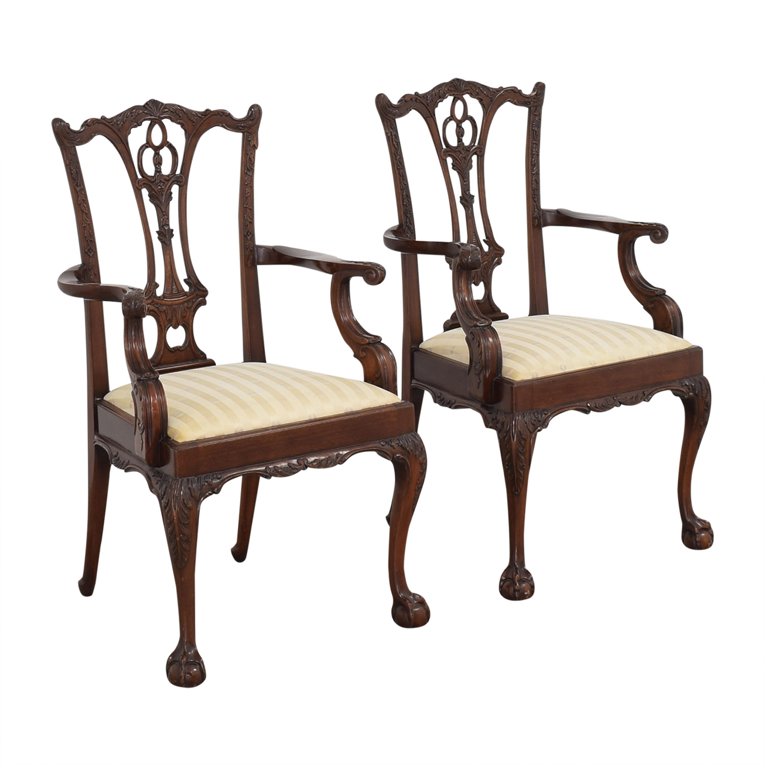shop Macy's Hickory Furniture Upholstered Dining Chairs online