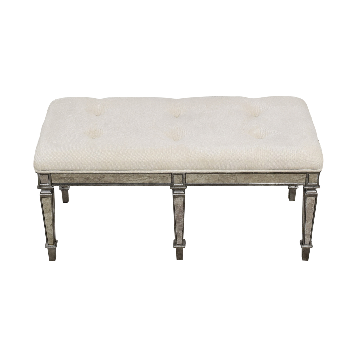 buy Horchow Denison Mirrored Bench Horchow Chairs