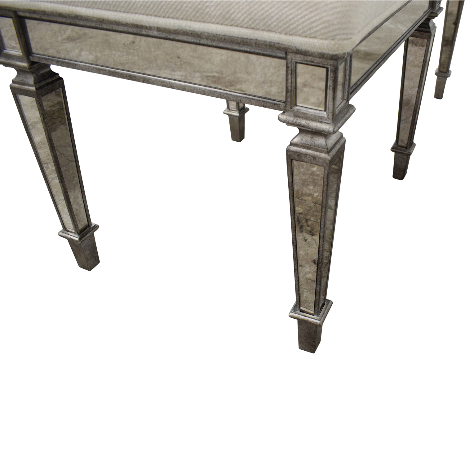 Horchow Horchow Denison Mirrored Bench second hand