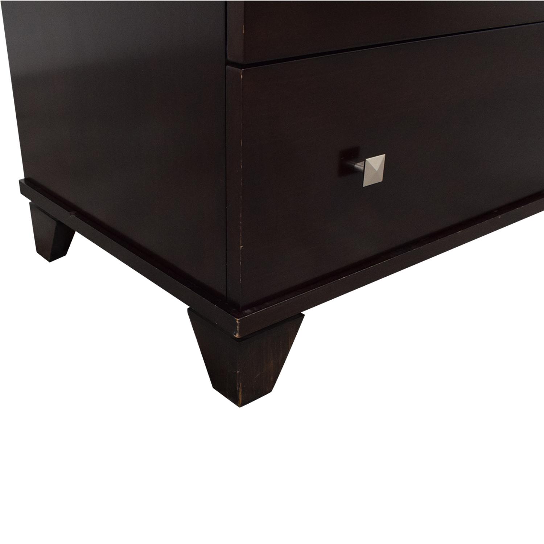Ligna Furniture Ligna Furniture Double Dresser dark brown