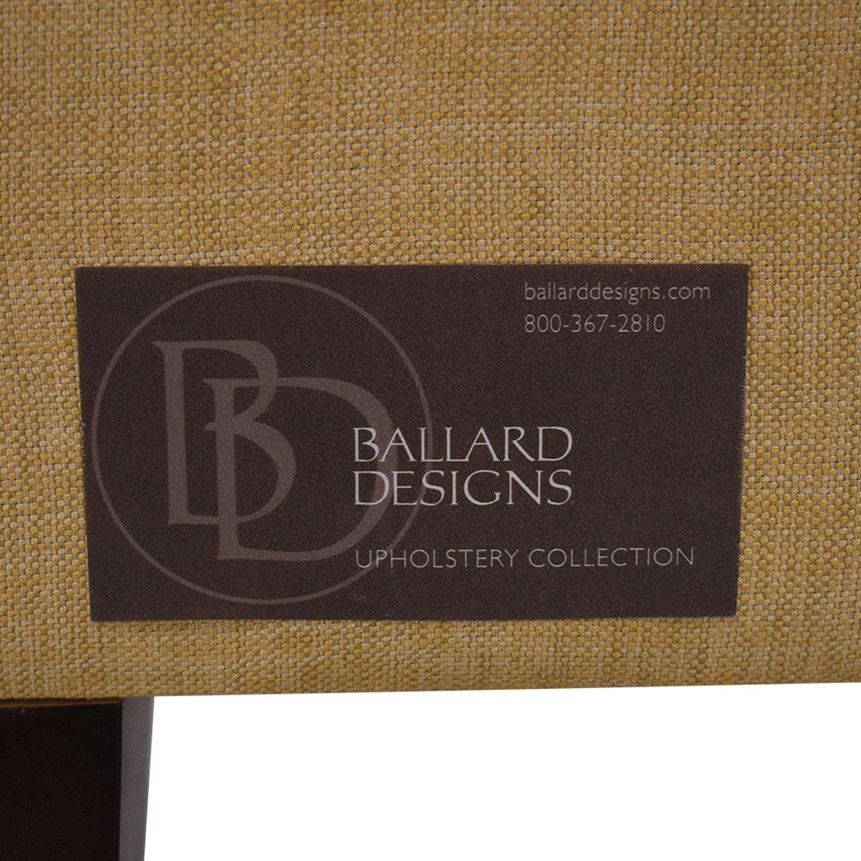 buy Ballard Designs Squire Untufted Twin Bed Ballard Designs