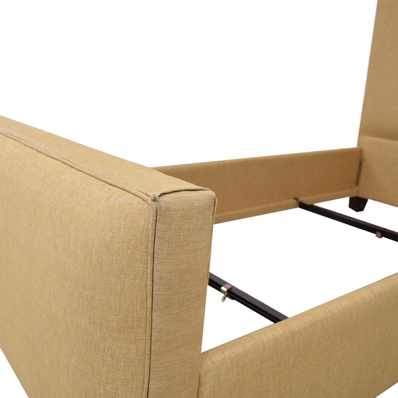 Ballard Designs Ballard Designs Squire Untufted Twin Bed dimensions