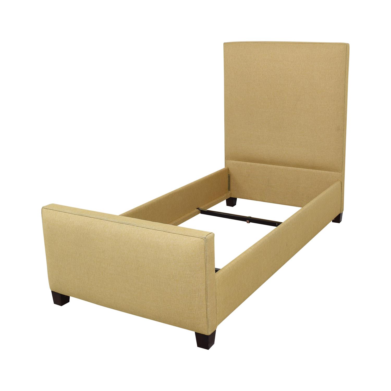 Ballard Designs Squire Untufted Twin Bed sale