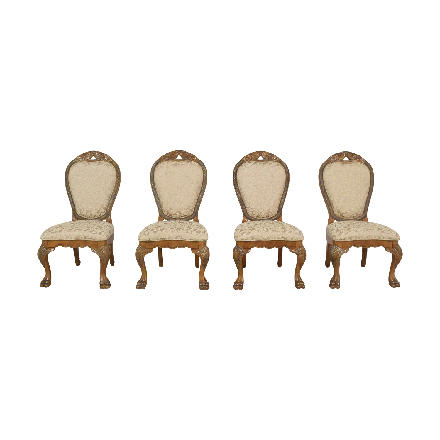 Michael Amini Upholstered Dining Chairs sale