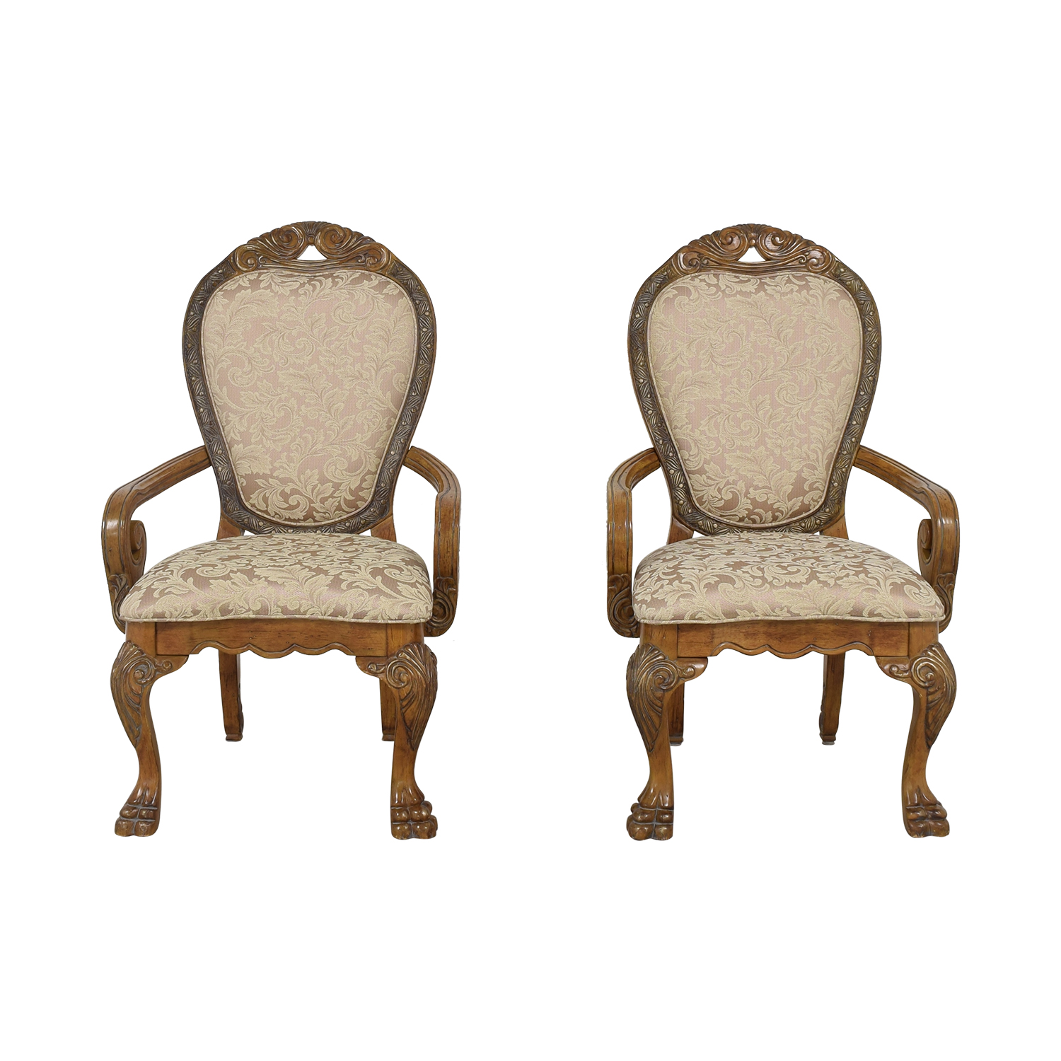 Michael Amini Dining Room Armchairs sale