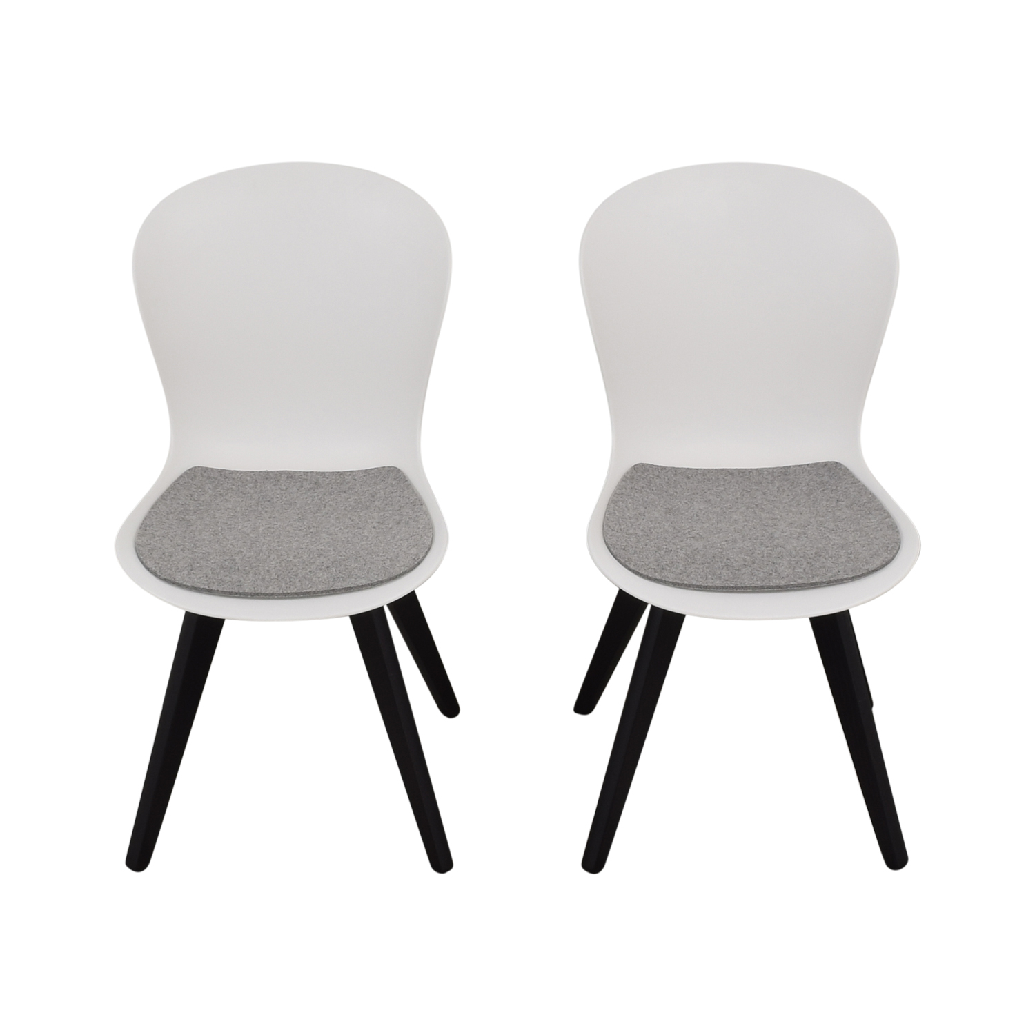 BoConcept BoConcept Adelaide Chairs with Morgan Seat Cushions discount