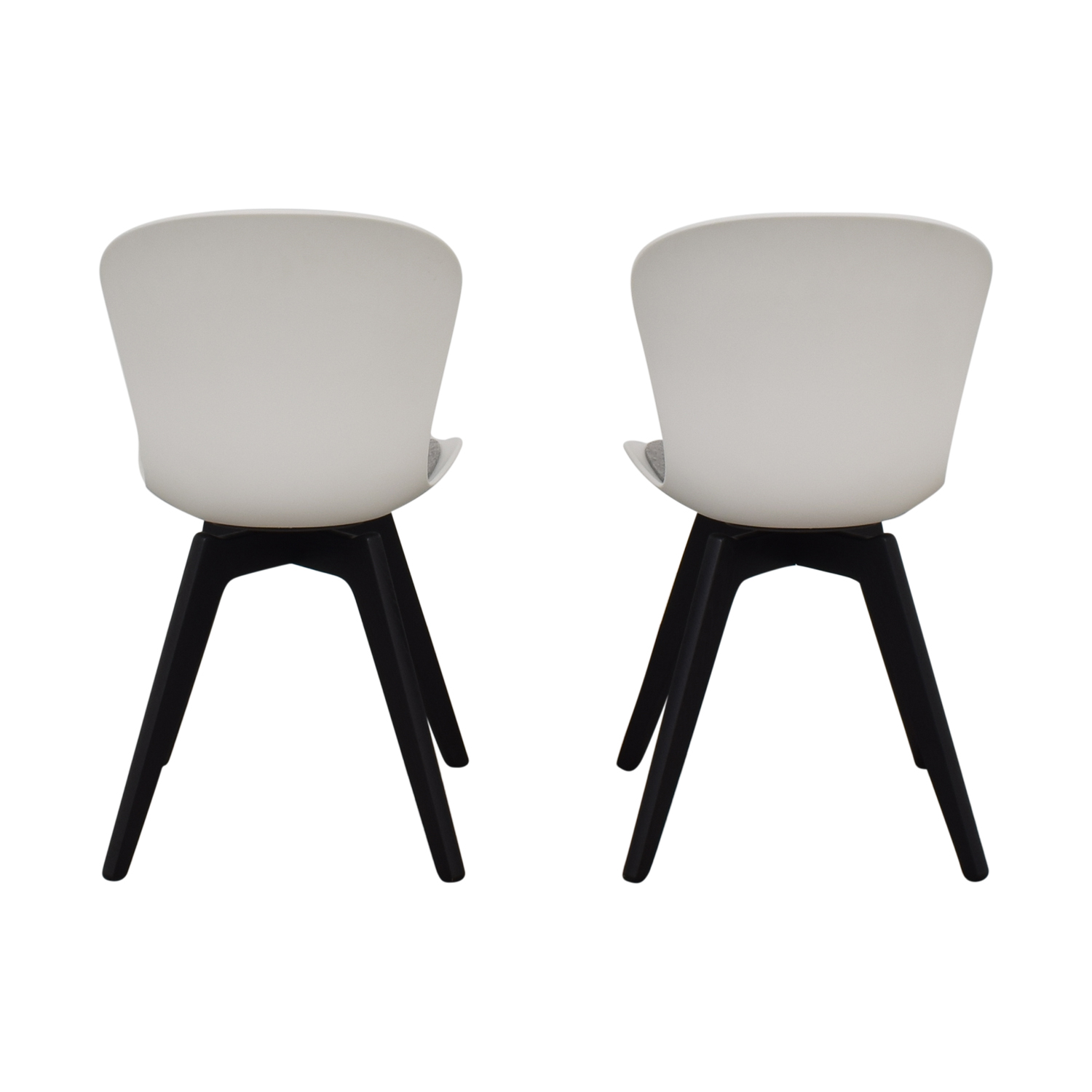 BoConcept BoConcept Adelaide Chairs with Morgan Seat Cushions second hand
