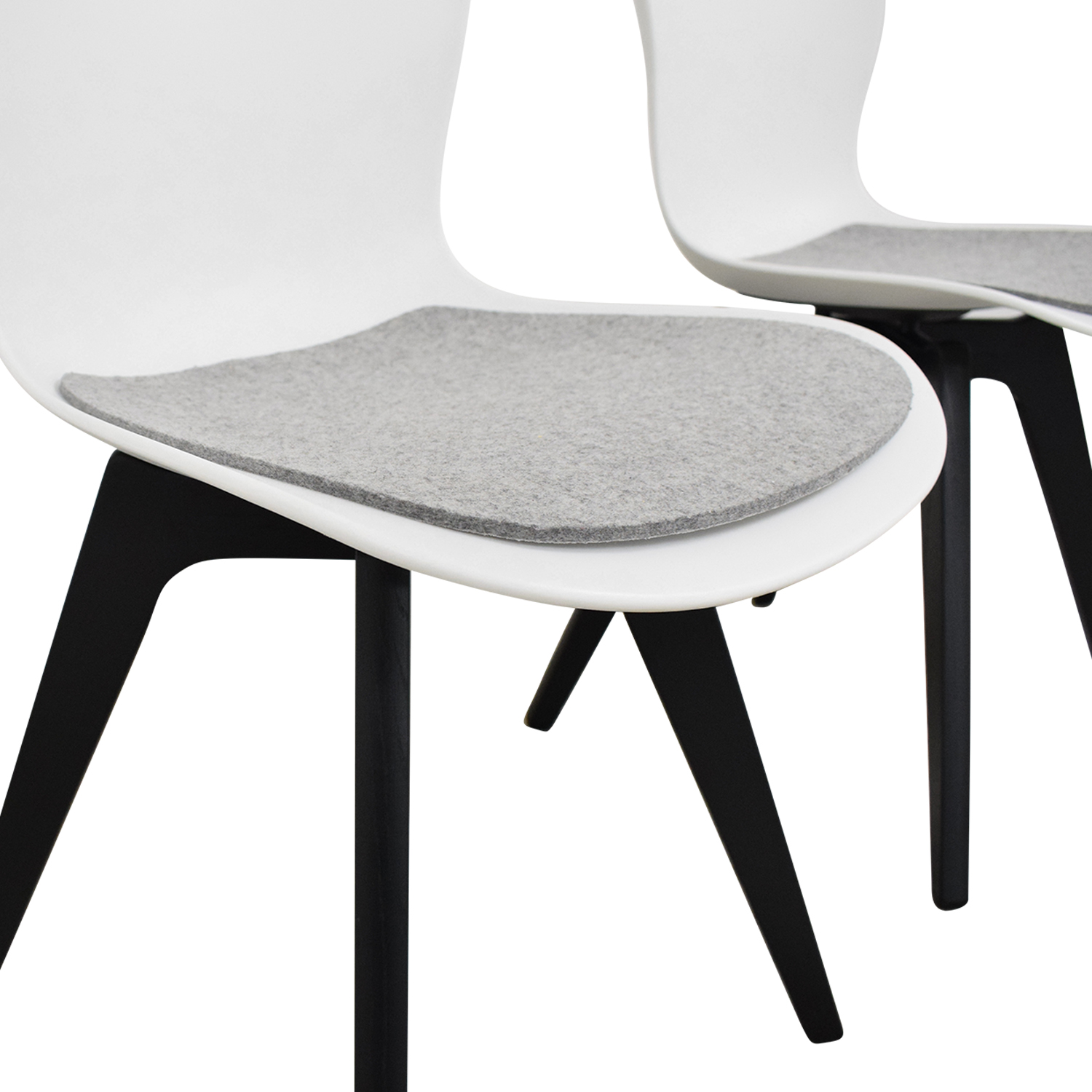 shop BoConcept Adelaide Chairs with Morgan Seat Cushions BoConcept Chairs