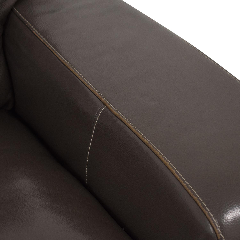 buy Raymour & Flanigan Leather Sectional Sofa Raymour & Flanigan Sectionals