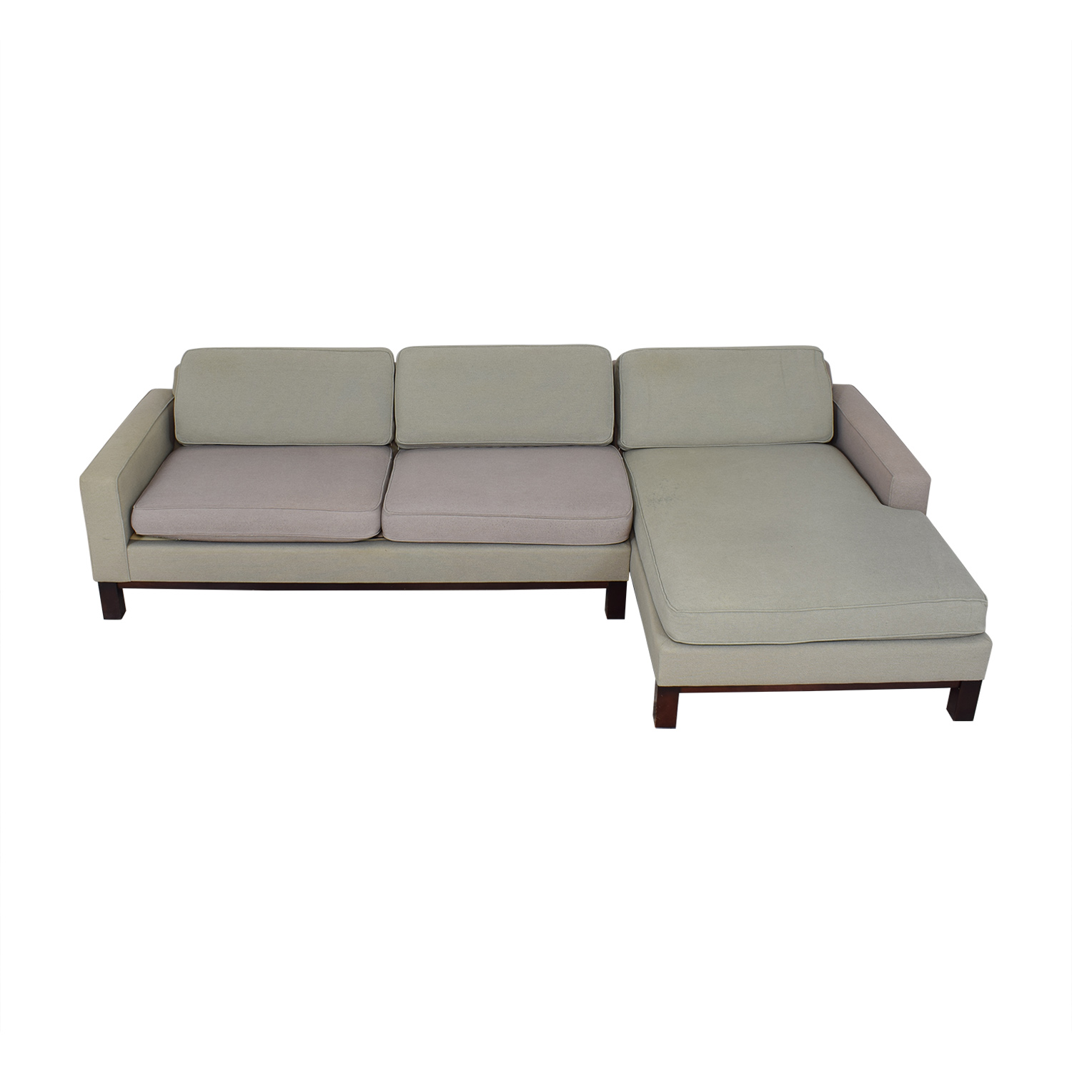 Room & Board Room & Board Chaise Sectional Sofa nj