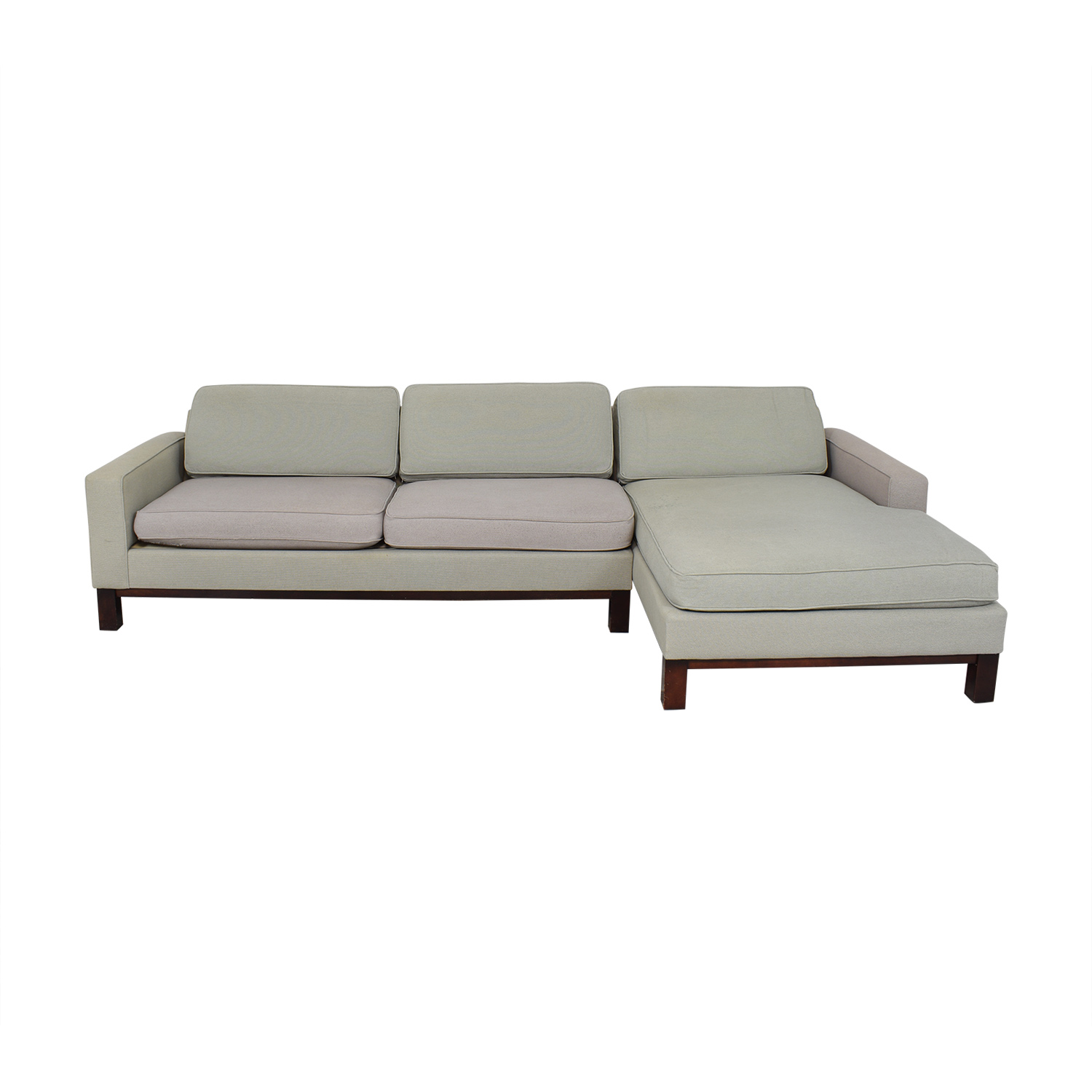 Room & Board Chaise Sectional Sofa / Sectionals