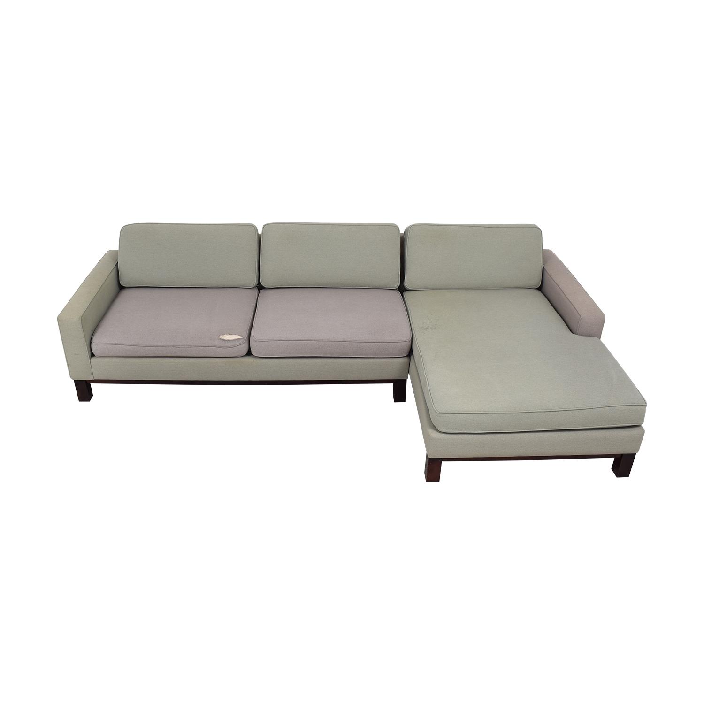 Room & Board Room & Board Chaise Sectional Sofa nj